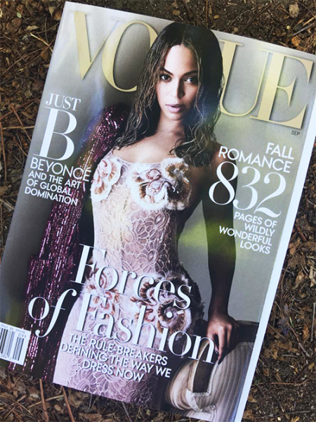 Beyoncé Covers Vogue Magazine