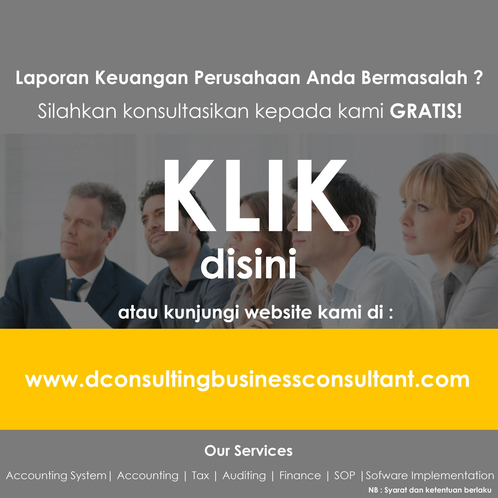 D'consulting Business Consultant