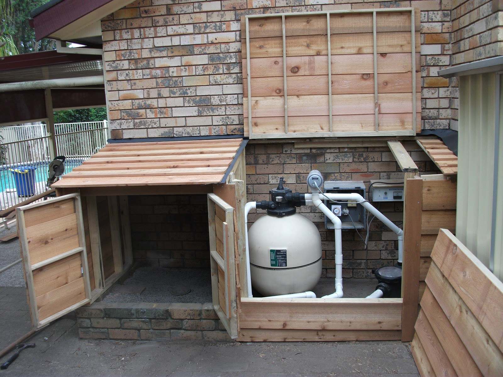 How To Build Shed For Pool Pump | Joy Studio Design Gallery - Best ...