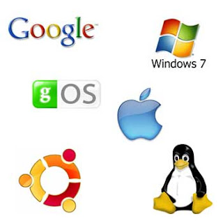 Operating System logos of various Companies