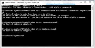 cara mematikan wifi hostpot di leptop dengan cmd