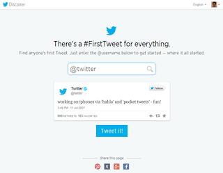 Conoce cómo ver tu primer Tuit, una nueva aplicación de Twitter te ayuda a conocer tu primer tweet