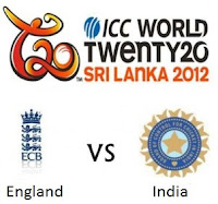 India vs England ICC T20 World Cup Match