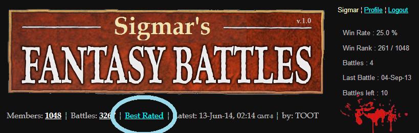 best Warhammer batreps