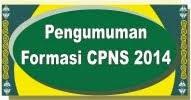 Formasi CPNS TA. 2014