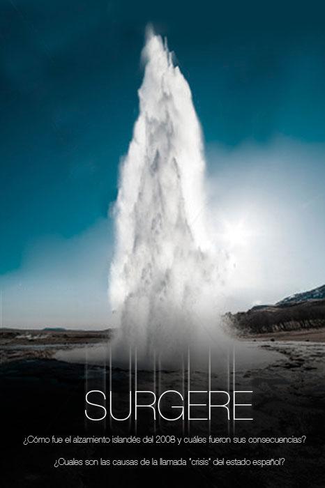 SURGERE, el Documental. Explica las diferencias entre Islandia y España para superar la crisis