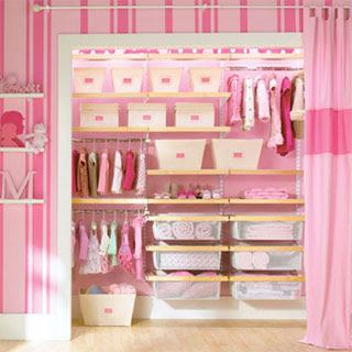 Closet Ideas for Kids Rooms