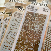 Tim Holtz Stencils 10% off