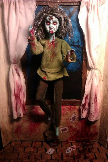 Escenario fanmade de Evil Dead, por Antonio Miranda