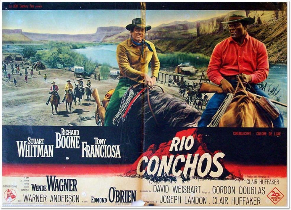Río Conchos (1964) Gordon Douglas (HD)
