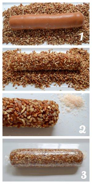 ... by Rook No. 17*: How to Make Sea Salt Caramel Pecan Roll (Pecan Logs