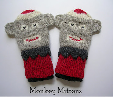 Mitten Patterns are here: just click the MONKEYS