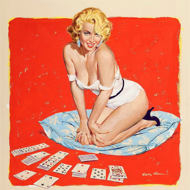 Cards and Gambling Pin Up