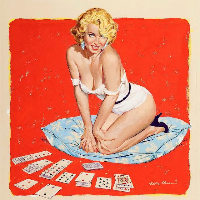 Cards and Gambling Pin Up