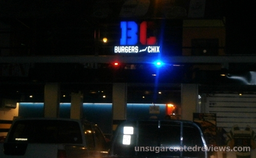 BC Burgers and Chix signage