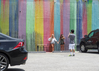 Popular photo spot in Montrose: Biscuit Paint Wall