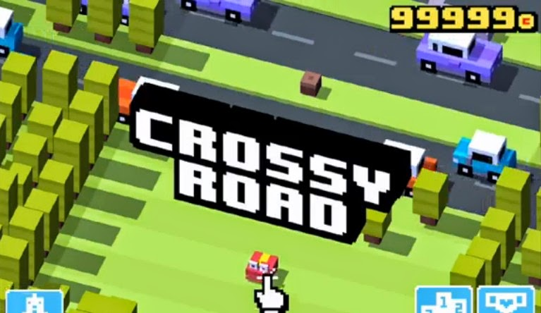 Crossy Road App Cheats.