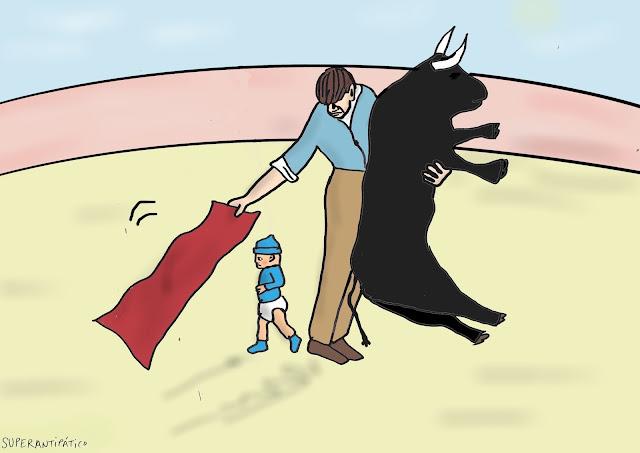 El torero y su hija