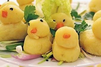 Peynirli Patatesli civcivler Tarifi ve Yapımı