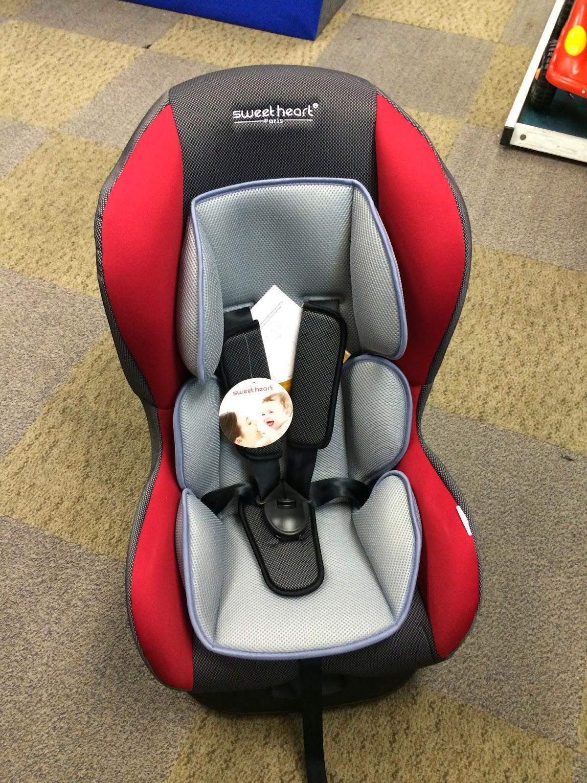Sweet Cherry Pliko Car Seat