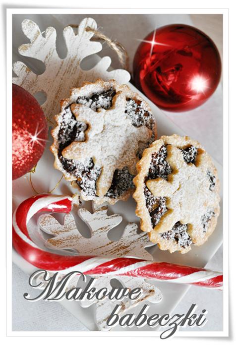 kruche babeczki, babeczki z makiem, swięteczne wypieki, świąteczne przepisy, wigilijne potrawy, makowe wypieki, ciasto z makiem, makowiec, Boże Narodzenie, proste wypieki, proste babeczki, kruche babeczki