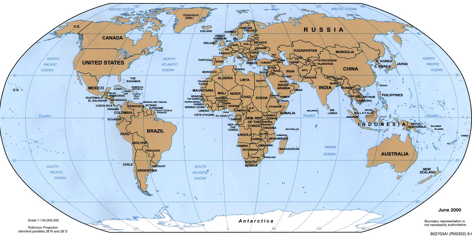 Worksheet. World Map Continents And Oceans And Seas  Info