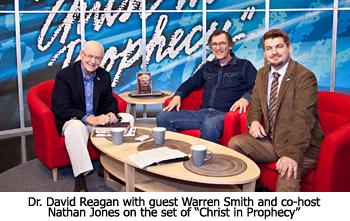 TV Shoot with Warren Smith