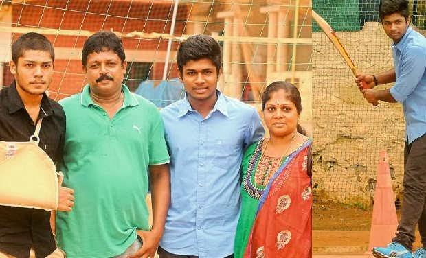 Image result for sanju samson family