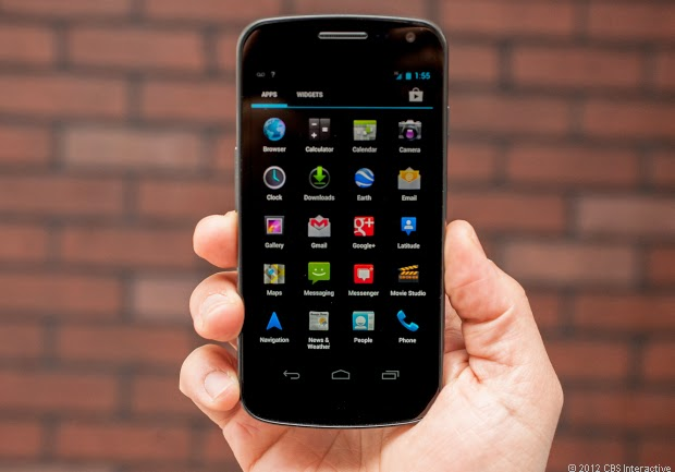 Samsung Galaxy Nexus Setting up