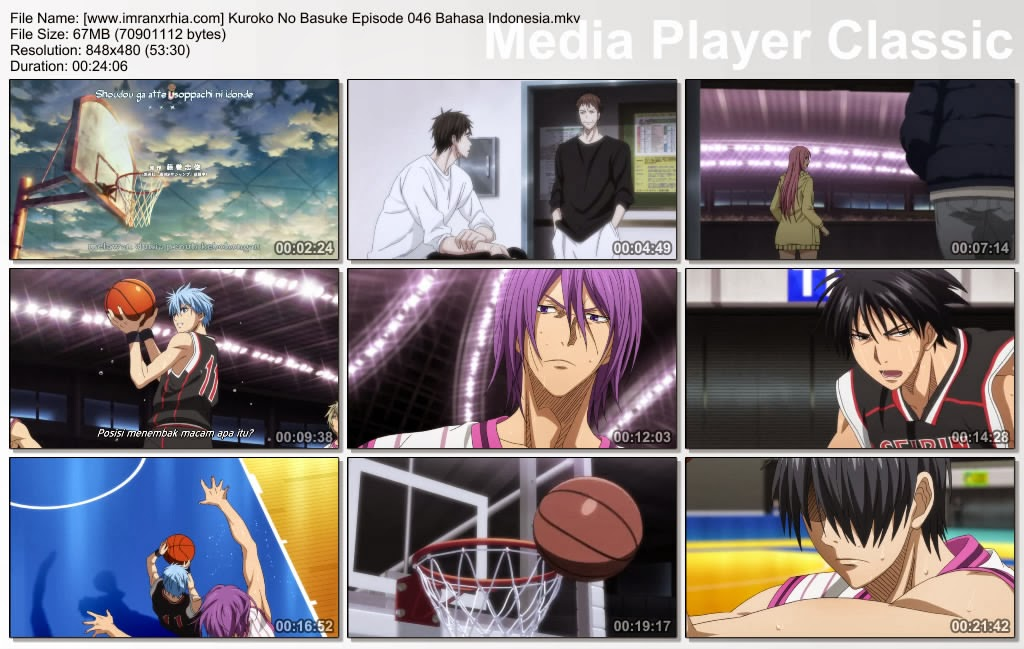 Download Film Kuroko No Basket Episode 046 Bahasa Indonesia