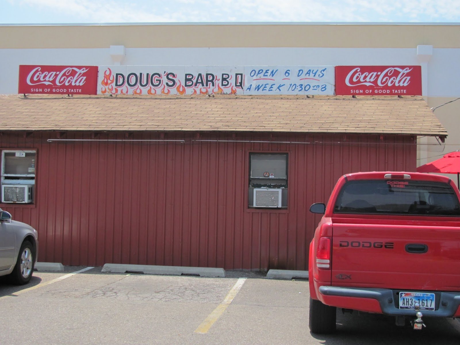 Doug's Bar-B-Q restaurant in Amarillo, Texas