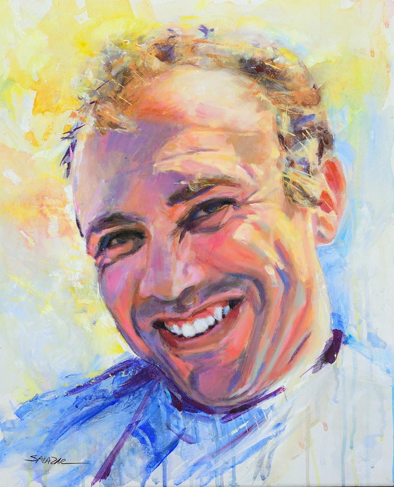 Clases de pintura en las palmas retratos al leo - Retrato oleo paso a paso ...