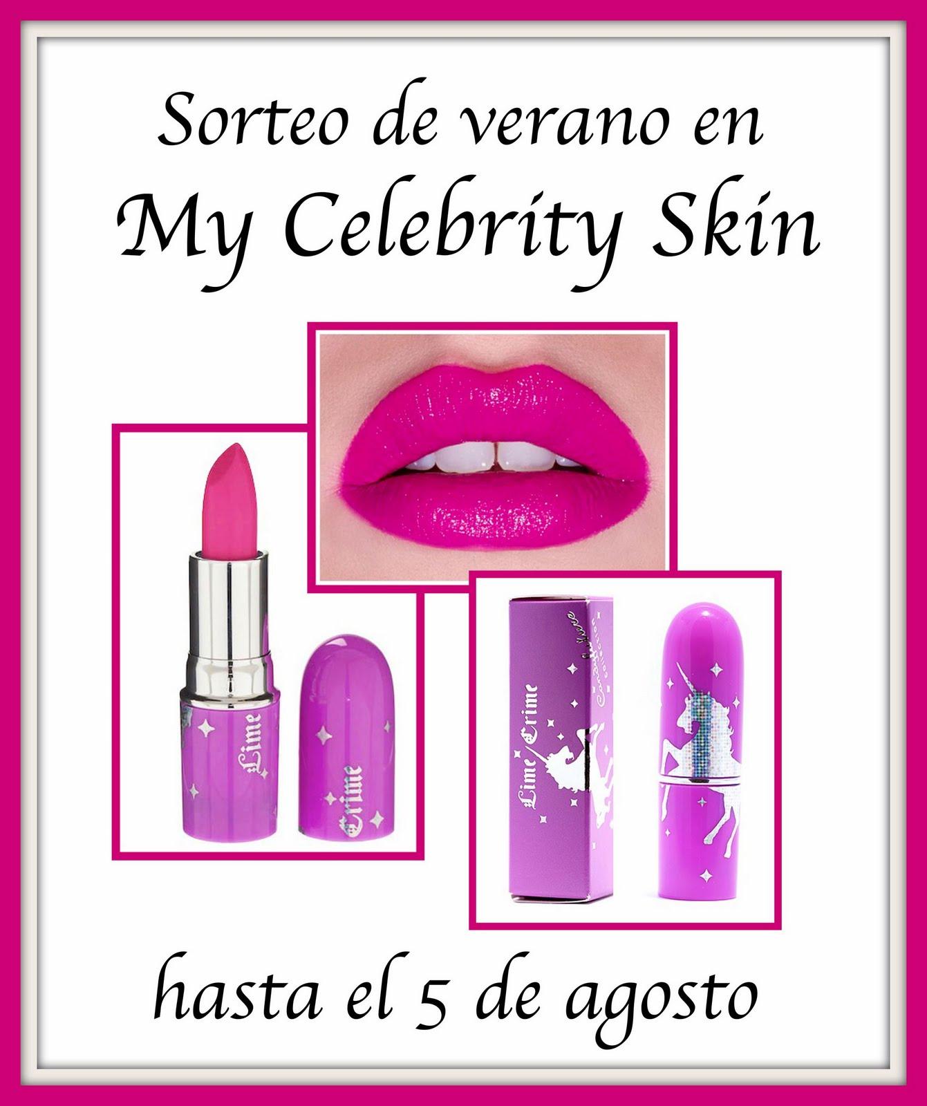 Sorteo My Celebrity Skin:
