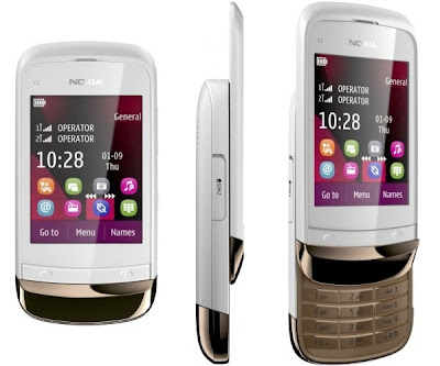 Spesifikasi Harga Nokia C2-03