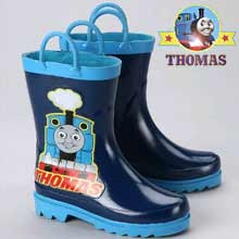 First rate idea for kids Halloween gear in chilly climate Thomas the train snow boots for children