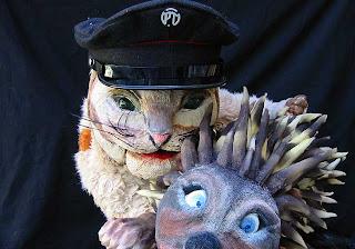Codamozza il Gatto, pupazzi e attore