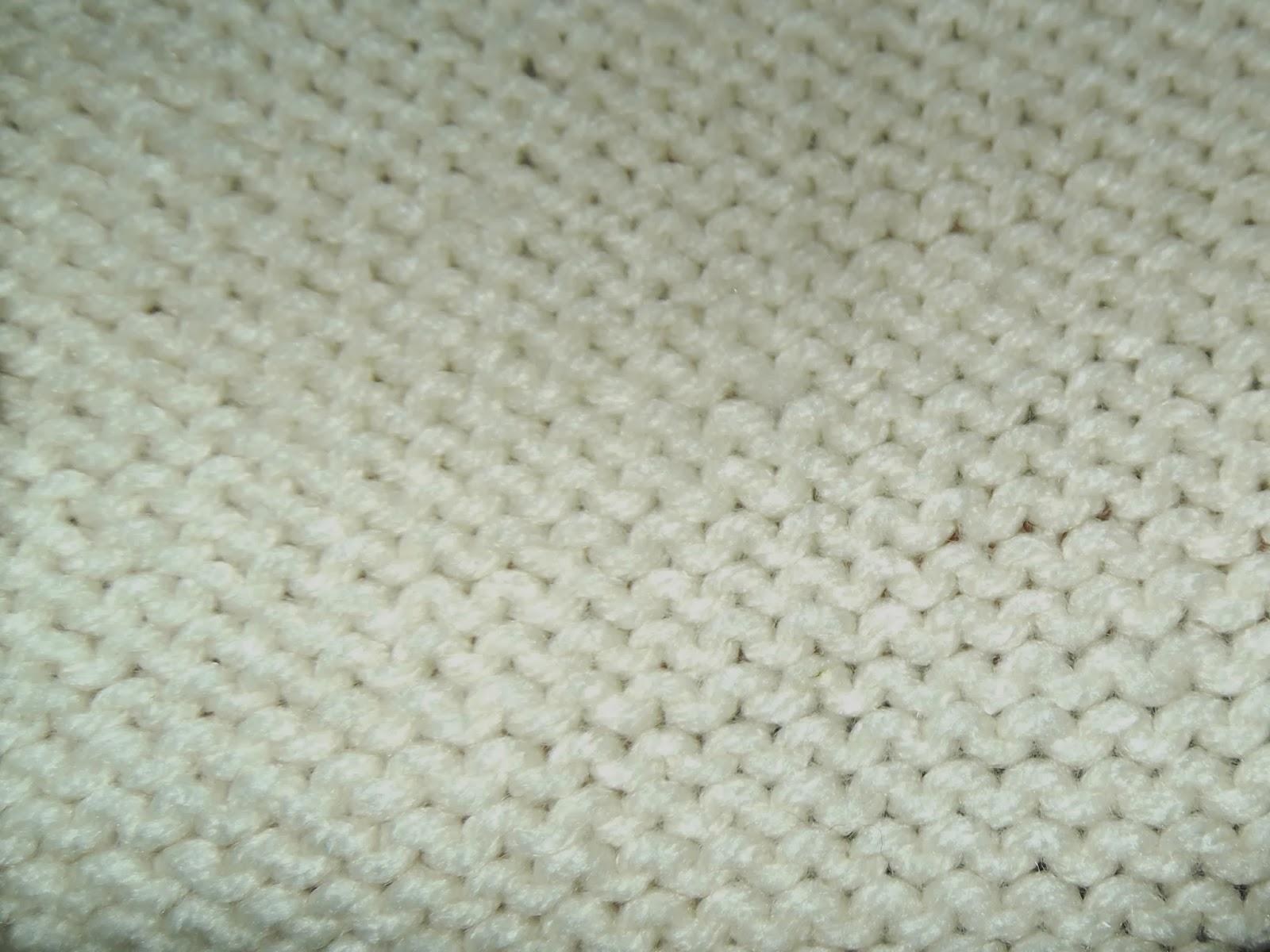 Knitting Garter Stitch Backwards : A written recipe garter stitch