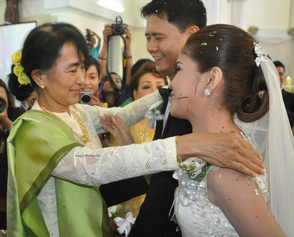 Aung San Suu Kyi Attended The Wedding Ceremony Of Anegga Than Thar Win