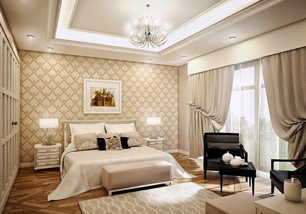 desain kamar tidur utama mewah