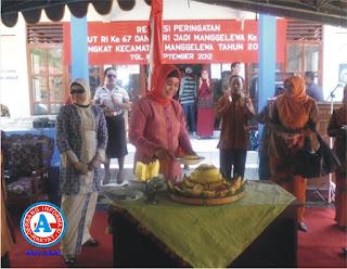 HUT  ke-11 Kecamatan Manggelewa Berlangsung Meriah