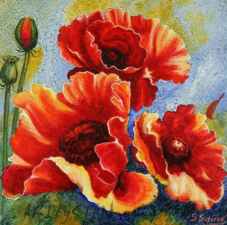 Im genes arte pinturas cuadros de flores en esp tula - Pinturas bodegones modernos ...