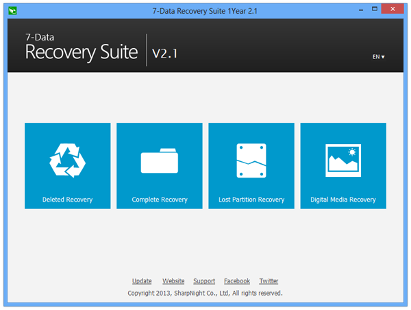 7-Data Recovery Suite 2.1
