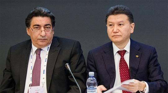 Georgios Makropoulos exercera dès à présent les pouvoirs et représentera officiellement la FIDE à la place de Kirsan Ilyumzhinov