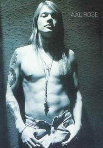 Image Gallary 7: Pianist and Guitarist AXL ROSE pictures