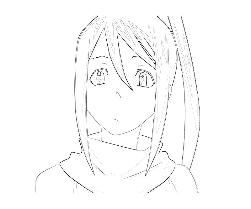 printable-soul-eater-tsubaki-nakatsukasa-face-coloring-pages
