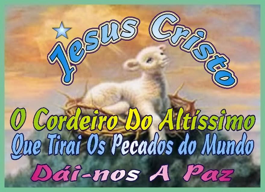 Jesus Nós Te Adoramos * Oh Cordeiro do Altíssimo!
