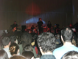 David Gil Santos (alumno) en el concierto de Mark Lanegan, 28 Marzo 2012, Sala Capitol Santiago