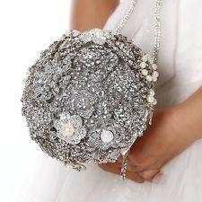 一個用純銀做的結婚花球