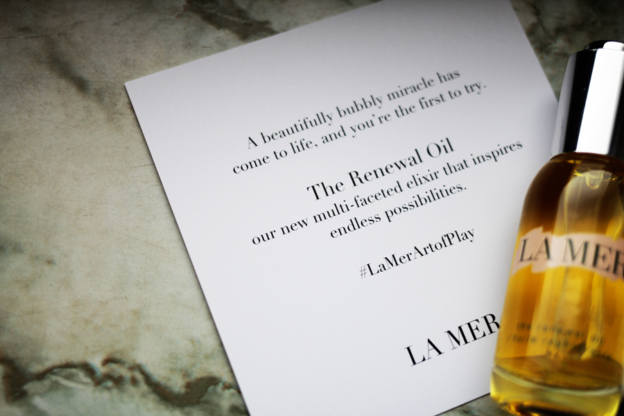 LA MER ART OF PLAY LETTER