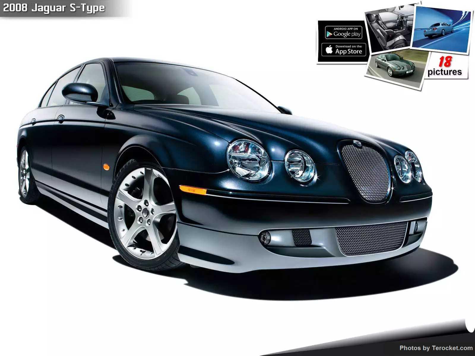 Hình ảnh xe ô tô Jaguar S-Type 2008 & nội ngoại thất